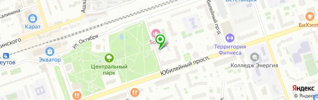 Чемпионика Реутов - детский футбольный клуб — схема проезда на карте