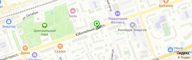 "Стоматология ""АБСОЛЮТ СК"" — схема проезда на карте"