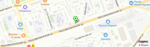 Банк ВТБ 24 — схема проезда на карте