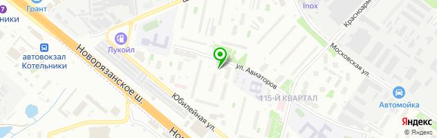 SPA-салон Зеленый рай — схема проезда на карте