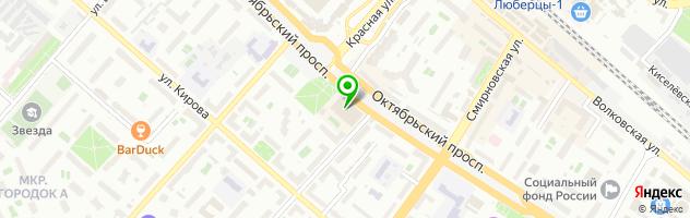 Сервисный центр Старый мастер — схема проезда на карте