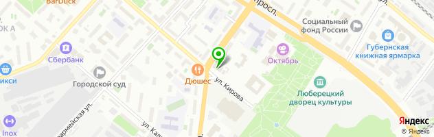 """Типография """"На Красной горке"""" — схема проезда на карте"""