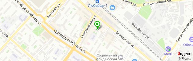 SEThome — схема проезда на карте