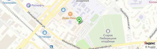Школа кавказских танцев Кавказ Лэнд — схема проезда на карте