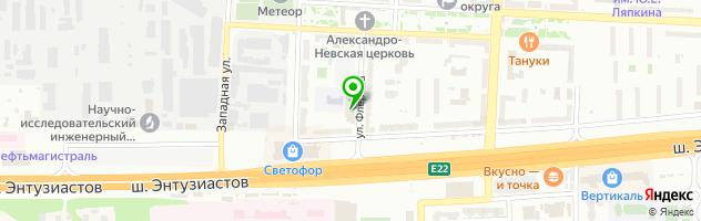Студия перманентного макияжа Алены Кочергиной — схема проезда на карте
