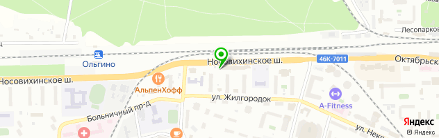 "Караоке-клуб ""Куприн"" — схема проезда на карте"