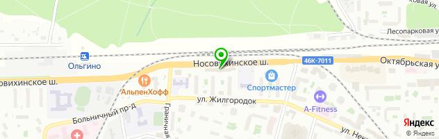 "Клуб ""Куприн"" — схема проезда на карте"