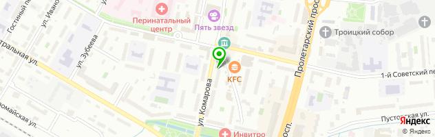 Сервисный центр РемЗона — схема проезда на карте