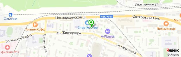 Мастерская на Главной 2 — схема проезда на карте