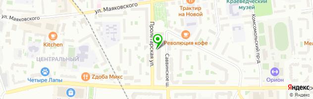Айфон-Мастер в Железнодорожном — схема проезда на карте