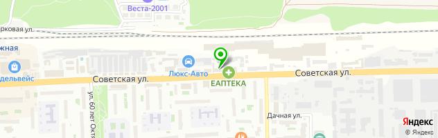 Типография Бронепоезд — схема проезда на карте