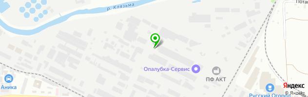 Торгово-сервисная компания АВТОСТЕКЛО — схема проезда на карте