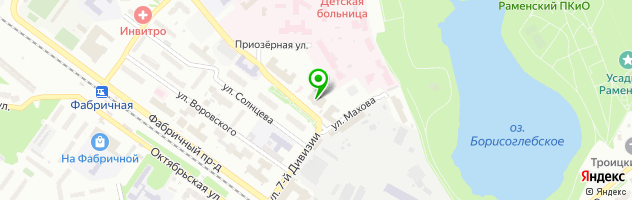 ПаноРама — схема проезда на карте
