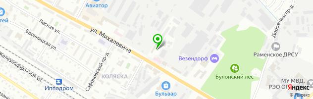 Tyre Plus — схема проезда на карте