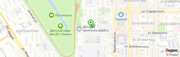 Торгово-сервисный центр Универсал — схема проезда на карте