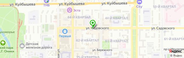 Тульский городской ломбард — схема проезда на карте