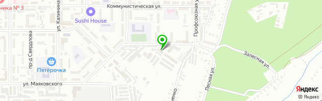 Автосервис Техцентр на Профсоюзной — схема проезда на карте