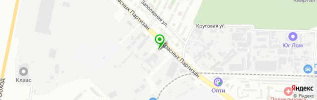 Магазин-склад запчастей Авторай — схема проезда на карте