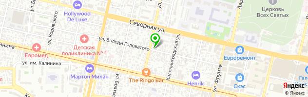 Торгово-сервисный центр Спайдер — схема проезда на карте