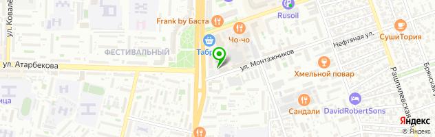 Автосервис Санис Авто-Тайм — схема проезда на карте