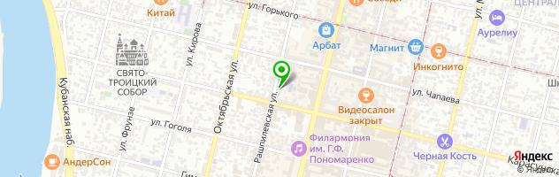 Краснодарский педагогический колледж — схема проезда на карте