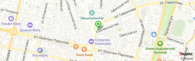 Тюнинг-ателье Глобус — схема проезда на карте