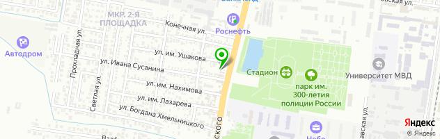 Автоцентр АвтоХата24 — схема проезда на карте