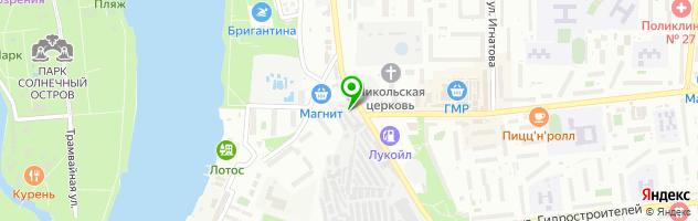 Автосервис Транспоком — схема проезда на карте