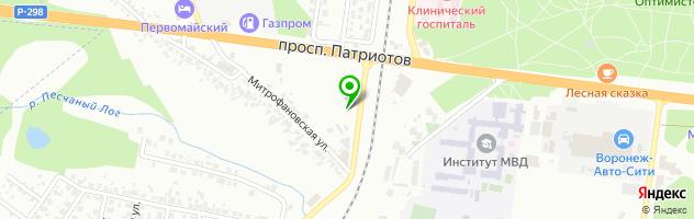 Производственно-торговая компания Реквием — схема проезда на карте