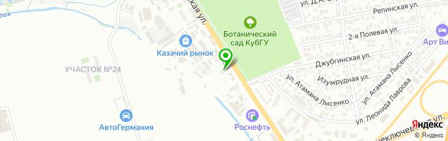 """Технический Центр """"Авторитет"""" — схема проезда на карте"""