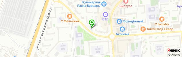Частная школа Мариоль — схема проезда на карте