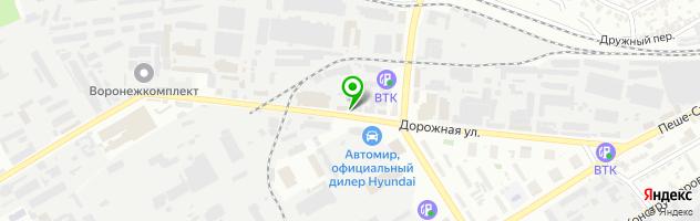 Оптово-розничный магазин РИНЕКС — схема проезда на карте