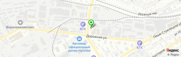 Сервис BMW АврораАвто — схема проезда на карте