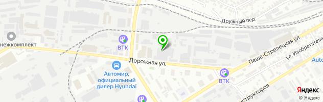 АврораАвто СТО — схема проезда на карте