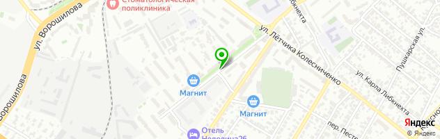 Агентство Радости — схема проезда на карте