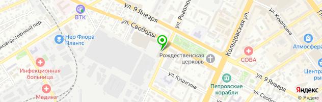 Оценочная компания Эксперт сервис плюс — схема проезда на карте