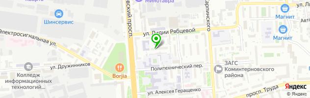 Медицинский центр доктора Бубновского — схема проезда на карте