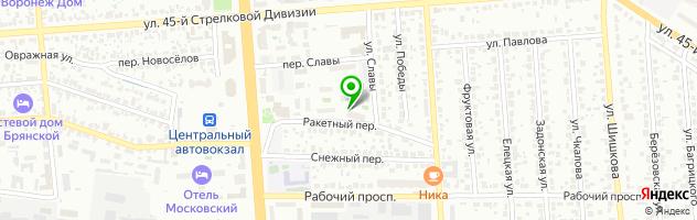 """Детский Образовательный Центр """"Нобель"""" — схема проезда на карте"""