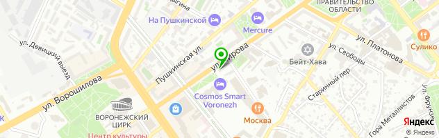 Медико-психологический центр Modus vivendi — схема проезда на карте