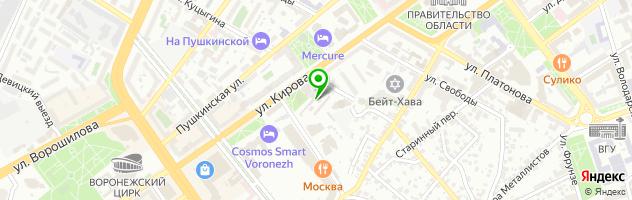 Паб Сто Ручьев — схема проезда на карте