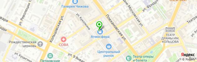 Компания АвтоЭксперт36 — схема проезда на карте