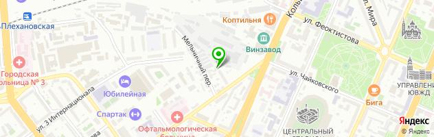 Avtoservis24/7 — схема проезда на карте