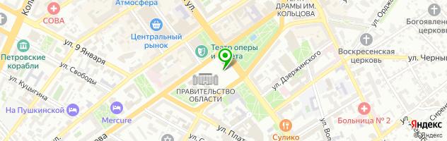 РЕМОНТ ЭЛЕКТРОНИКИ — схема проезда на карте