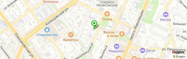 Ресторан BossFor — схема проезда на карте