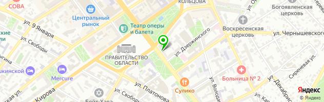 QuestHunter — схема проезда на карте
