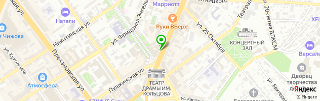 БАНКЕТ-ХОЛЛ АУРА — схема проезда на карте