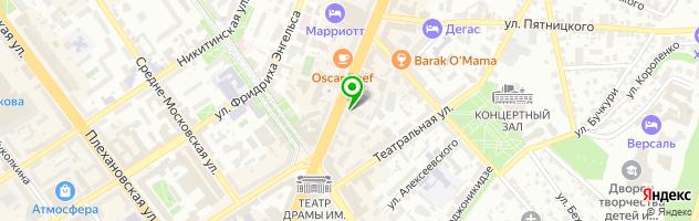 Рекламное агентство ПеликанАрт — схема проезда на карте