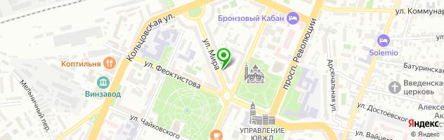Интернет-магазин ЛинзаЛинза — схема проезда на карте