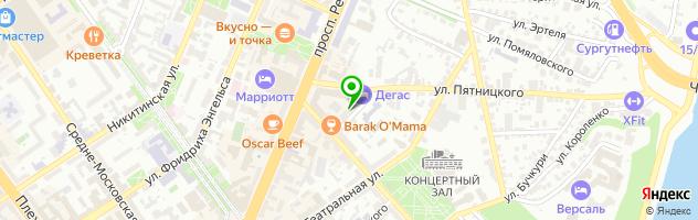 Ресторан Апраксин — схема проезда на карте