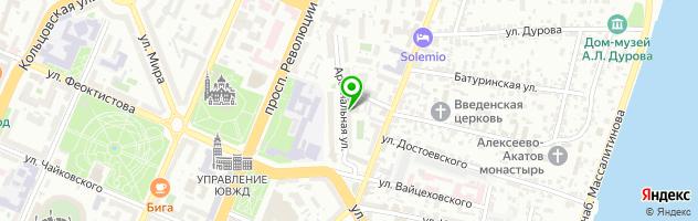 Федеральный экспертный центр — схема проезда на карте